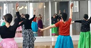 韓国舞踊体験講座