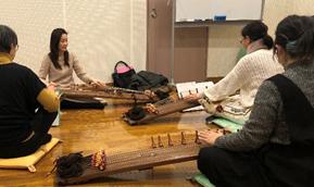 伽倻琴(カヤグム)体験講座